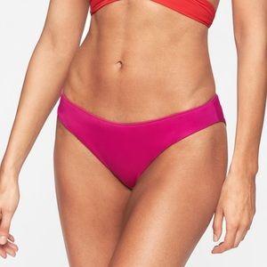 Athleta High-Cut Leg Reversible Bikini Bottom